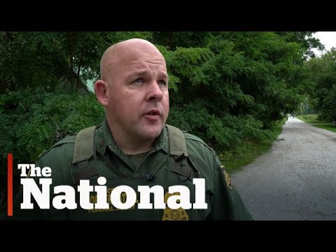 Guarding Canada-US illegal border crossings
