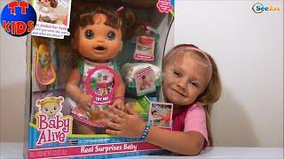 ✔ Baby Alive Doll a New Surprise of girl Yaroslava. Новая Кукла Сюрприз от Ярославы Серия 51 ✔