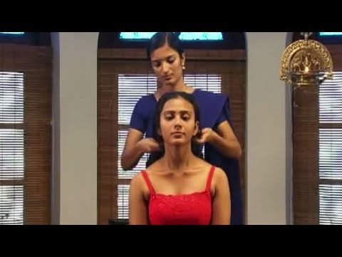Ayurvedic Indian Head Massage - Kerela - India   World's Greatest Head Massage For Relaxation