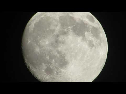 La luna vista desde San Lucas Tolimán,