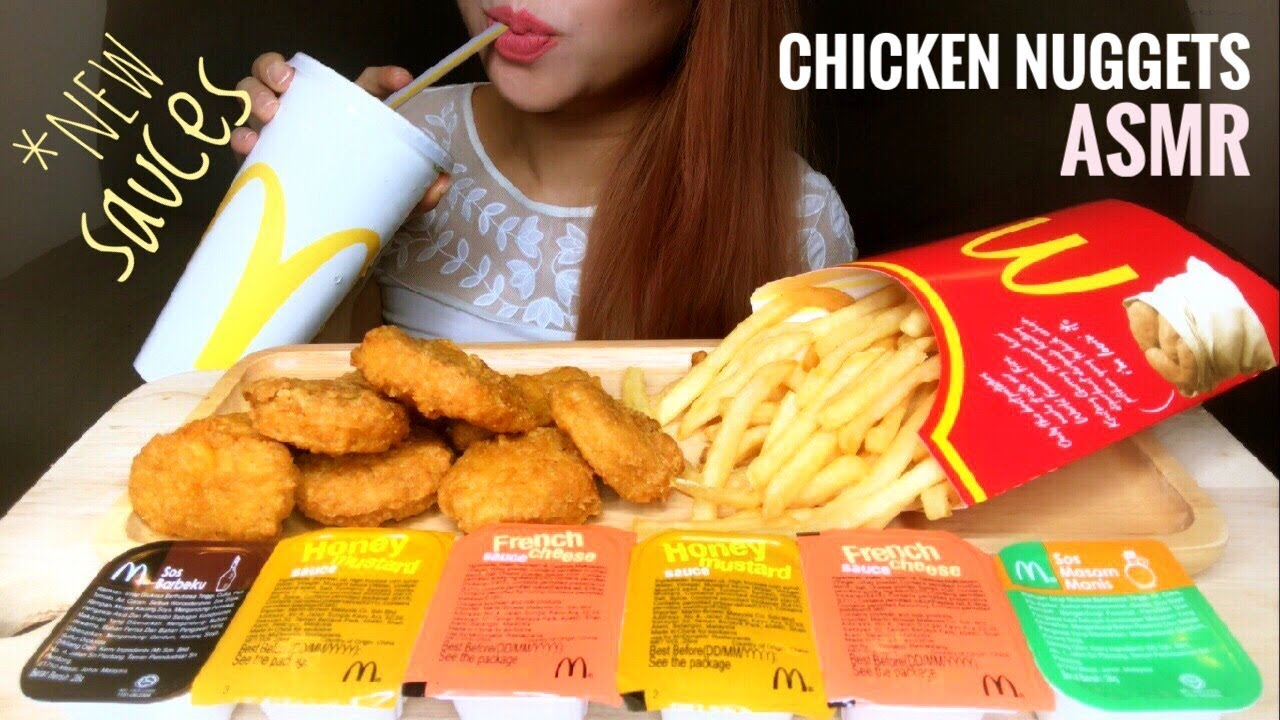 Asmr Mcdonalds Chicken Nuggets Fries Crunchy Eating Sounds No Talking
