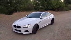 BMW M6 GRAN COUPE 2016: SAN FRANCISCO, CALIFORNIA DRIVE, REVIEW AND EXHAUST