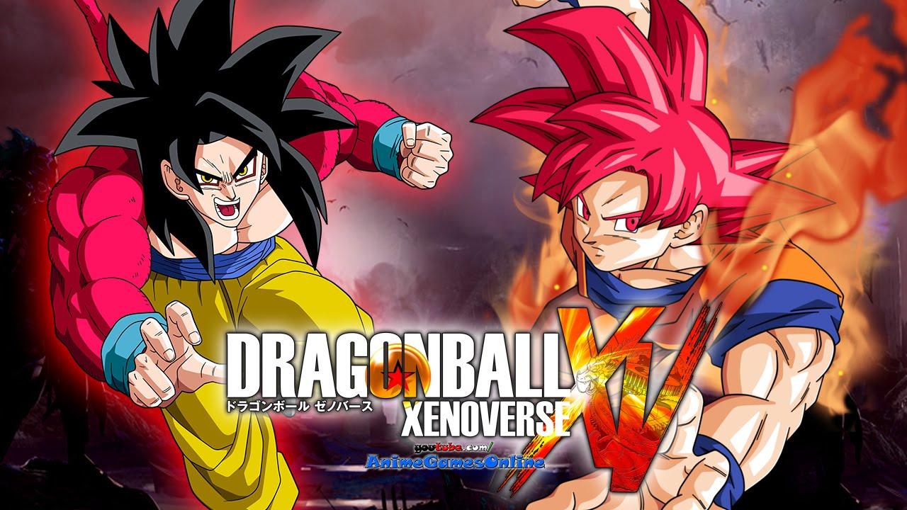 Super saiyan god goku vs ssj4 goku gameplay dragon ball - Dragon ball xenoverse ss4 vegeta ...