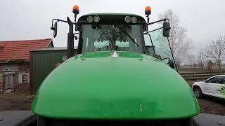 Traktor sprowadzony z Anglii. JOHN DEERE moc 212 KM