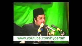 Shaheed Allama Irfan Hyder abidi Sahab Qibla In Hyderabad-1991(Aza Khanaye Zehra). Majlis 1 Part 2