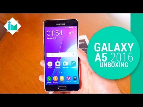 Samsung Galaxy A5 2016 - Unboxing en español
