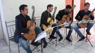 cuarteto de guitarras carpe diem play ponteio agalopado by celso machado