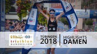 1. Bitburger 0,0% Triathlon-Bundesliga - Tübingen 2018: Highlights Damen