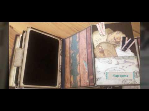 Mini suitcase album