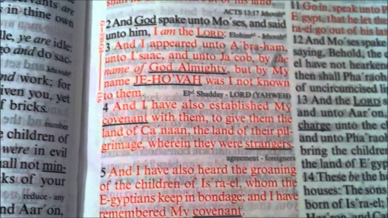 KJV Sword Study Bible   Large Print   YouTube