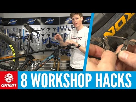 8 Pro Mountain Bike Maintenance Hacks | MTB Maintenance