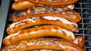 LONDON STREET FOOD, HOT DOGS, SAUSAGES, POLISH KIELBASA, LEICESTER SQUARE,