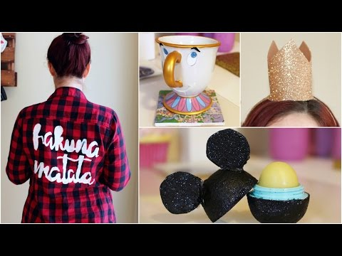CHEAP AND EASY DISNEY DIY CRAFT IDEAS #3 | PINTEREST INSPIRED