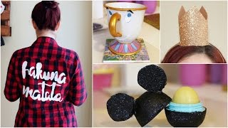 CHEAP AND EASY DISNEY DIY CRAFTs #3 | PINTEREST INSPIRED