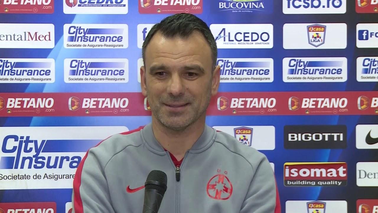 Conferință de Presă - Anton Petrea - FCSB - Sepsi OSK (1-1) - Etapa 15