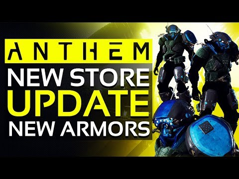 Anthem | New Update to VANITY STORE: New Javelin ARMOR SETS & More