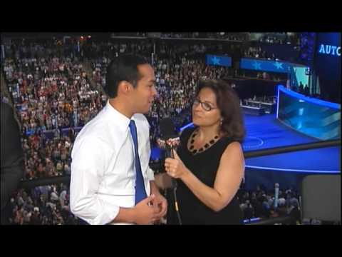 Democratic Convention Julian Castro Speaks to Fox News Latino