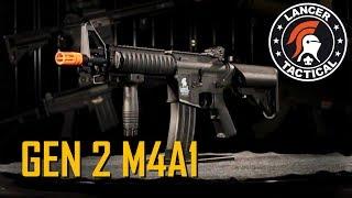$110 Airsoft M4! Lancer Tactical Gen 2 M4A1 Overview