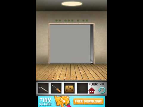 100 floors level 28 floor 28 solution youtube