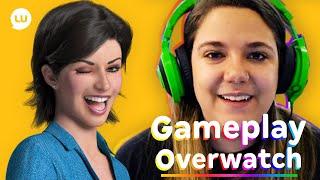 Overwatch Gameplay com a Malena - Canal da Lu Magazine Luiza