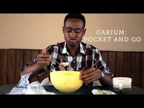 Pocket and Go: Garri, Sugar, Groundnut in One Package