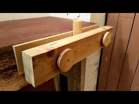 DIY Woodworking Vise – Budget Twin Screw Vise