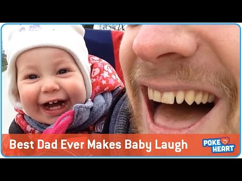 Best Dad Ever Makes Baby Laugh