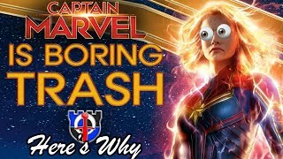 Captain Marvel is boring TRASH: here