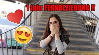 Nach EINEM Jahr FERNBEZIEHUNG - ÜBERRASCHUNG an FREUNDIN !!   itsIlker