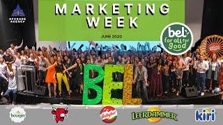 Upgrade Agency - Groupe BEL : MARKETING WEEK  Juin 2019