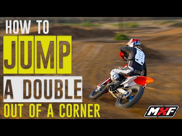 How to Jump a Double Out of a Corner - 3 Essential Tips!!