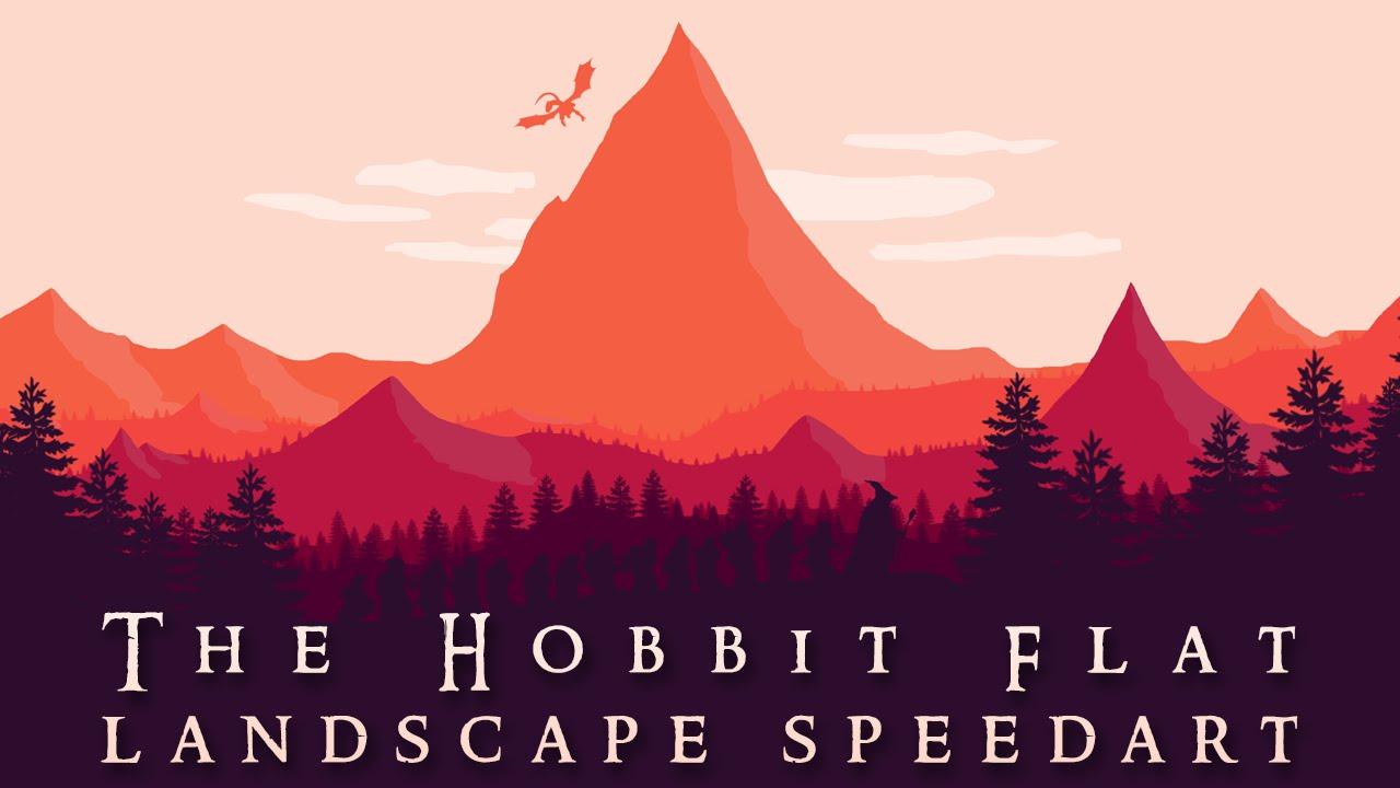 The Hobbit Wallpaper Speedart Photoshop Youtube