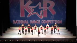 HAPPY-large group tap dance KAR Dance Competition