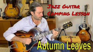 Jazz Guitar Comping Lesson : A…