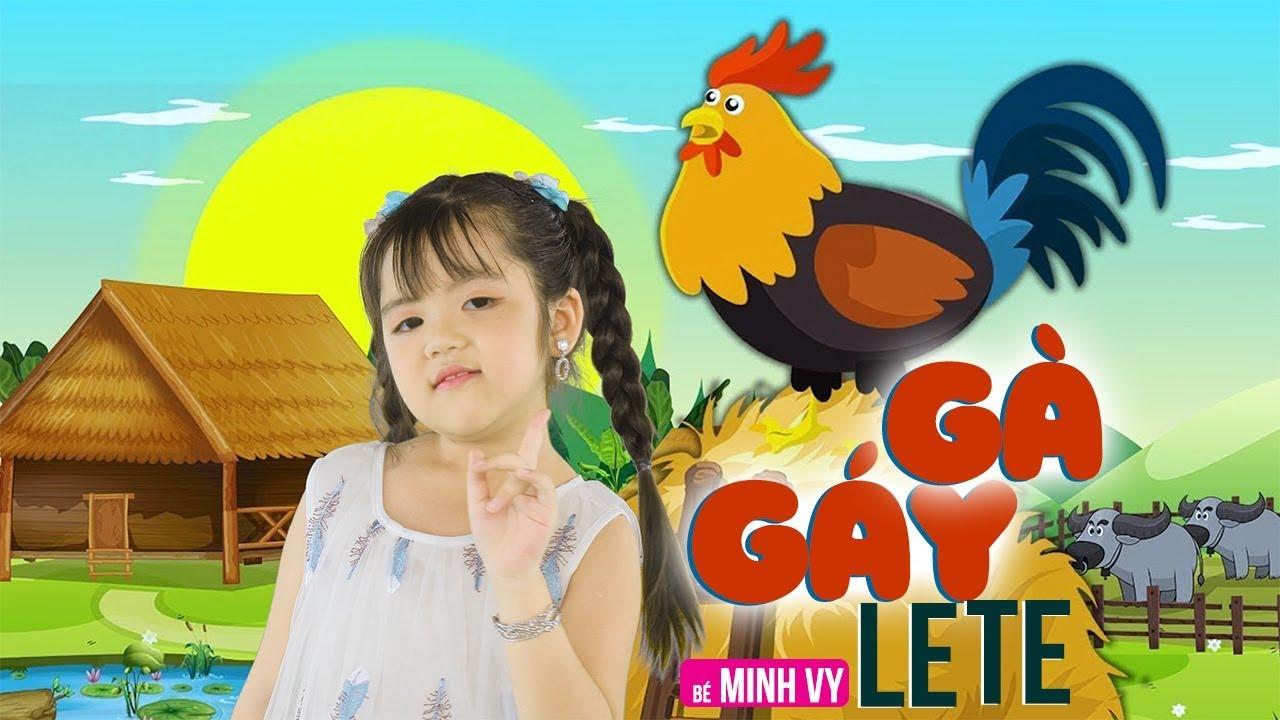 Photo of Gà Gáy Le Te ✿ Bé Minh Vy [MV 4K]☀ Ca Nhạc Thiếu Nhi Hay Nhất Cho Bé