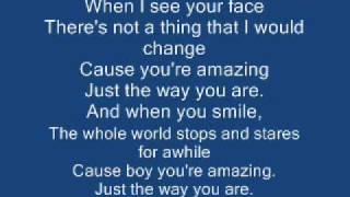 Just the way you are- Megan Nicole Lyrics