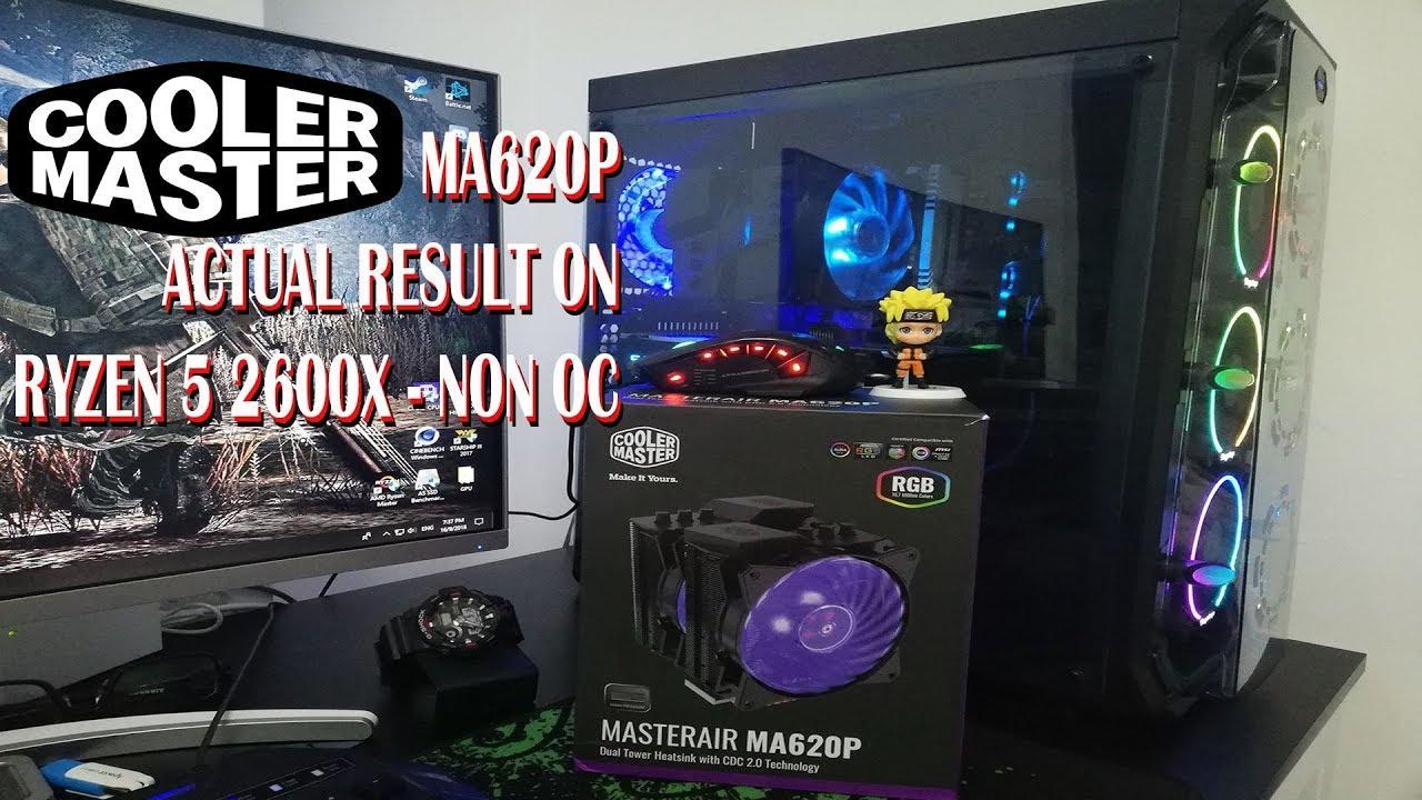 Ryzen 5 2600x High Temperature Problem - Solved! Cooler Master MA620P