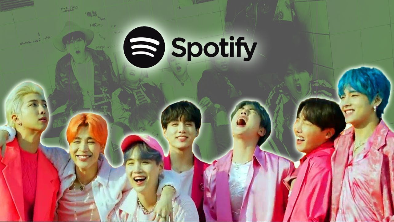 TOP 100 | MOST STREAMED BTS SONGS ON SPOTIFY - NOVEMBER 2019 - YouTube