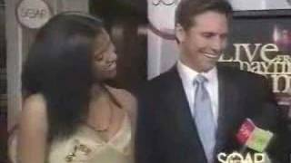 Renee and Dan on Red Carpet @ 2005 Daytime Emmy Awards