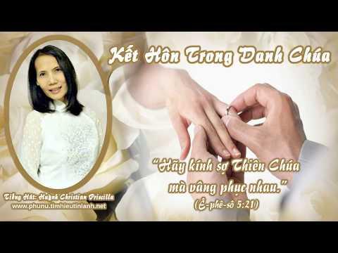 Karaoke Thánh Ca: Kết Hôn Trong Danh Thiên Chúa (Huỳnh Christian Priscilla)