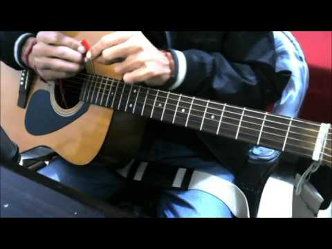 Chords Shifting Practice , Strumming + Singing lesson - Guitar hindi beginners lesson absolute