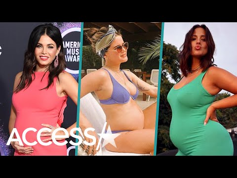 Jenna Dewan, Ashley Graham & More Pregnant Celebrities Giving Birth In 2020