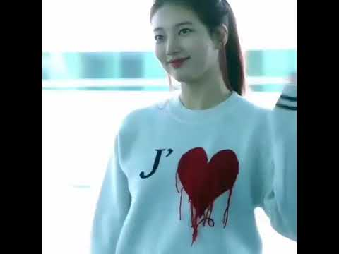 Bae Suzy At Incheon Airport To Paris Fashion Week Youtube