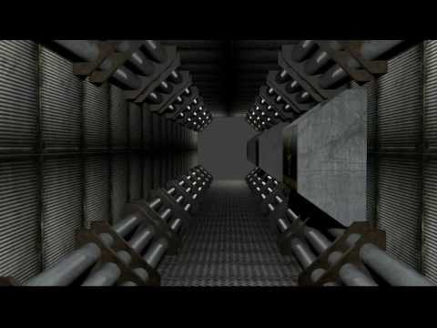 Prueba de corredor interior nave espacial blender youtube for Interior nave espacial