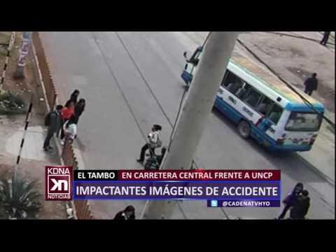 IMPACTANTES IMÁGENES DE ACCIDENTE CADENA NOTICIAS