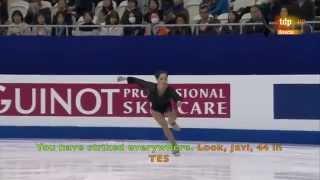 [ENG SUB] Spanish Commentary: Elizaveta Tuktamysheva (RUS) - Worlds 2015