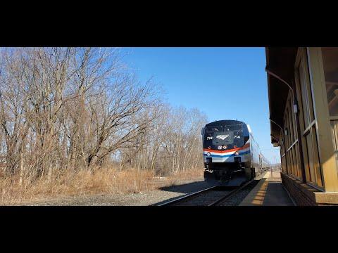 Amtrak Action at Rome and Syracuse NY!!