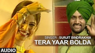 Tera Yaar Bolda | Punjabi Audio Song | Surjit Bindrakhia | Phulkari | T-Series Apna Puinjab