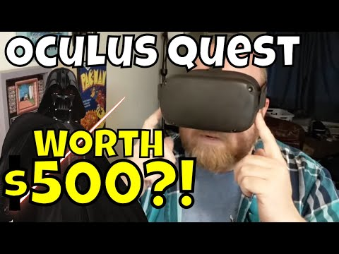 Oculus Quest - Worth $500?! Games and Hardware