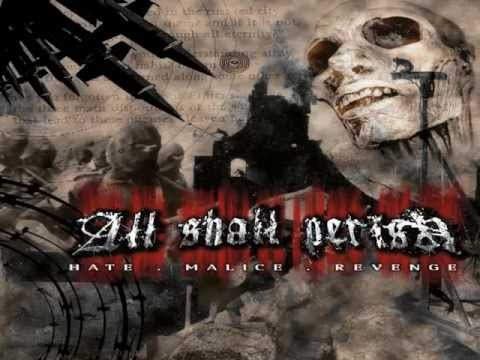 All Shall Perish - Never Ending War + LYRICS!!!